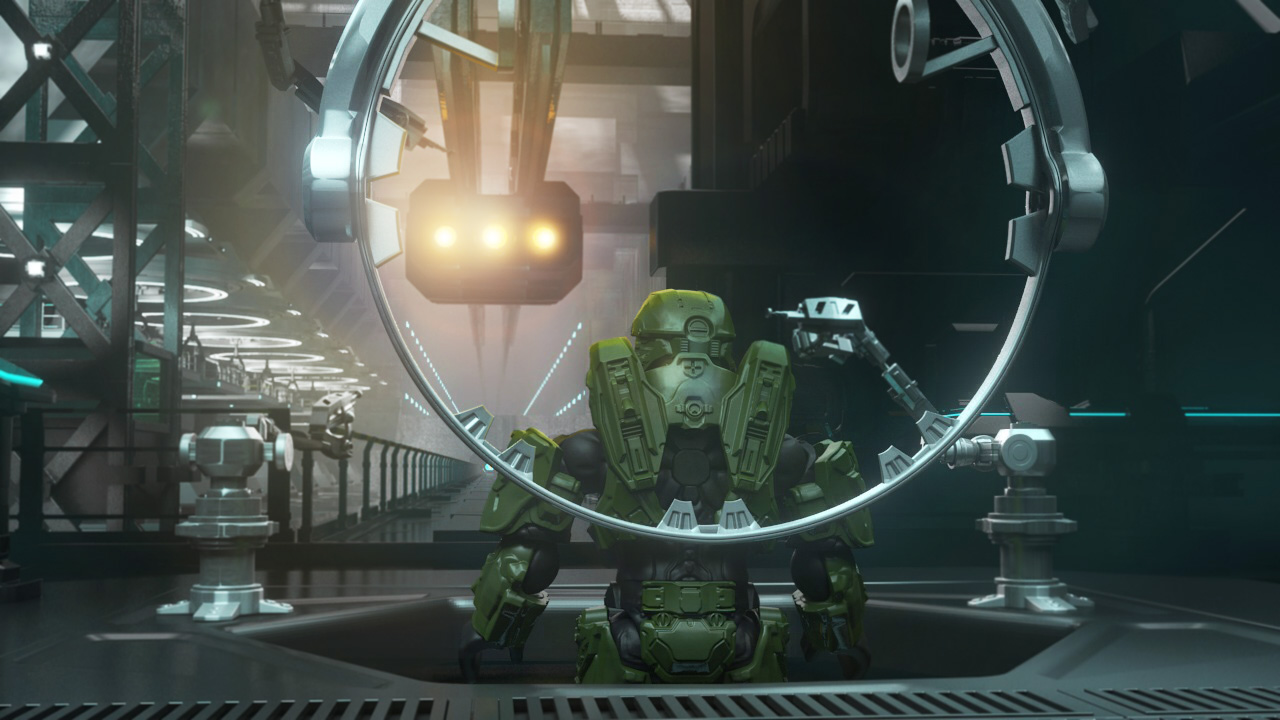 Spartan Mark VI Concept With Master Chief